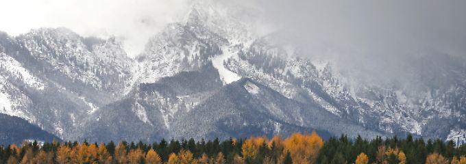 """""""Vorbote für eine weiße Weihnacht"""": Der Winter naht mit Kälte und Schnee"""