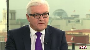 """Frank-Walter Steinmeier im n-tv Interview: """"Wir sollten nicht so tun, als sei uns das in Europa fremd"""""""