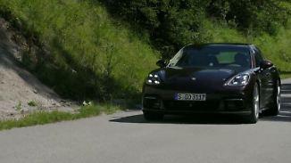 V6-Motor sorgt für sportlichen Fahrspaß: Porsche legt den Panamera neu auf