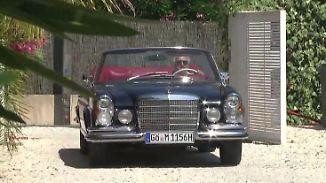 Über Frankreich in die neue Welt: Schnittiger Mercedes trifft auf lässiges Savoir-Vivre