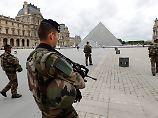 In Frankreich gehören Soldaten mittlerweile zum alltäglichen Straßenbild.