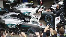 Formel-1-Thriller im brasilianischen Regen: Hamilton gewinnt Chaos-Rennen vor Rosberg