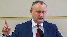 Will auf Kuschelkurs mit Russland gehen: Wahlsieger Igor Dodon