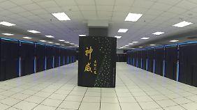 Rechenleistung, so weit das Auge reicht:Der chinesische Supercomputer Sunway TaihuLight.