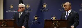 Schlagabtausch ohne Samthandschuhe: Türkischer Außenminister brüskiert Steinmeier