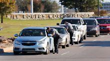 Flughafen in Oklahoma: Airline-Mitarbeiter auf Parkplatz erschossen