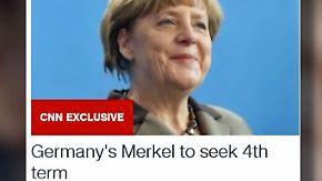 "Röttgen kündigt Merkel-Kandidatur an: Seibert: Kanzlerin wird sich ""zum geeigneten Zeitpunkt"" äußern"
