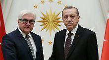 Streit mit der Türkei: Steinmeier kritisiert Erdogan scharf