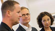 Dreierbündnis für Berlin: Rot-rot-grüner Koalitionsvertrag steht
