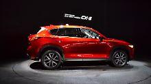 Nachgeschärft präsentiert sich die zweite Generation des Mazda CX-5 in Los Angeles und wagt sogar den Start mit einem Diesel.