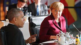 """Wenig beruhigende Botschaft für EU: Obama: Trump """"will Land anders führen als den Wahlkampf"""""""
