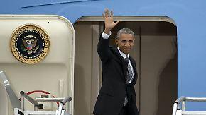 Ende des Berlin-Besuchs: Obama verabschiedet sich mit warmen Worten aus Deutschland