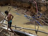 Polizeiuntersuchung im Amazonas: Ureinwohner töten Goldgräber mit Pfeilen