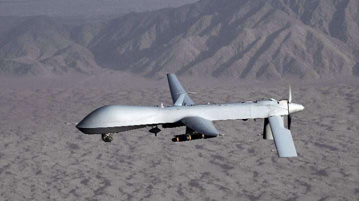 Eine Drohne vom Typ MQ-1 Predator.
