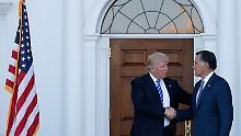 """Erst """"Versager"""", jetzt """"großartig"""": Trump und Romney plötzlich harmonisch"""