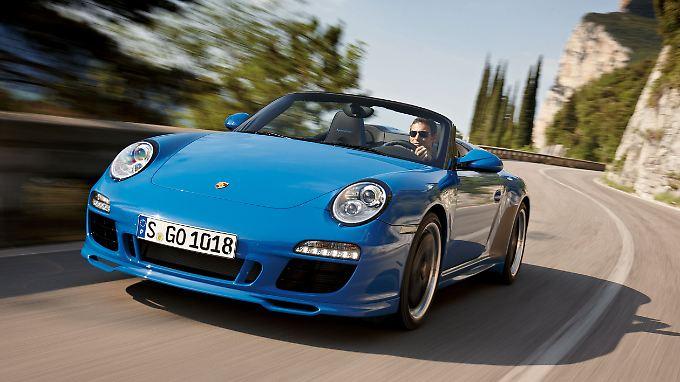 PS - Das Automagazin: Porsche Speedster heizt ein
