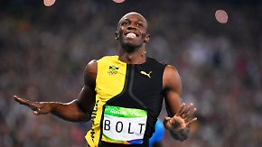 Von der Laufbahn zum BVB?: Usain Bolt beendet 2017 seine Sprintkarriere