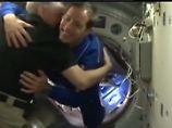 Esa-Astronaut Thomas Pesquet aus Frankreich ist zum ersten Mal auf der ISS.