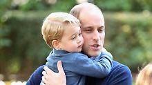 """George, der """"kleine Schelm"""": Prinz William spricht über seine Vaterrolle"""