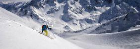Wintersport in Les Deux Alpes: Auf der heftigsten schwarzen Piste Europas