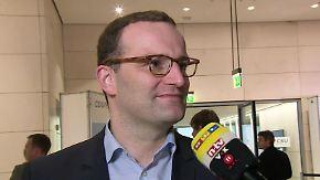 """Jens Spahn zur Kanzlerkandidatur: Bei Merkel """"ist noch viel Feuer"""""""