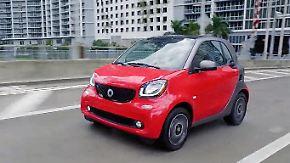 Auf Probefahrt durch Miami: Wie fährt sich der emissionsfreie Cityflitzer E-Smart?