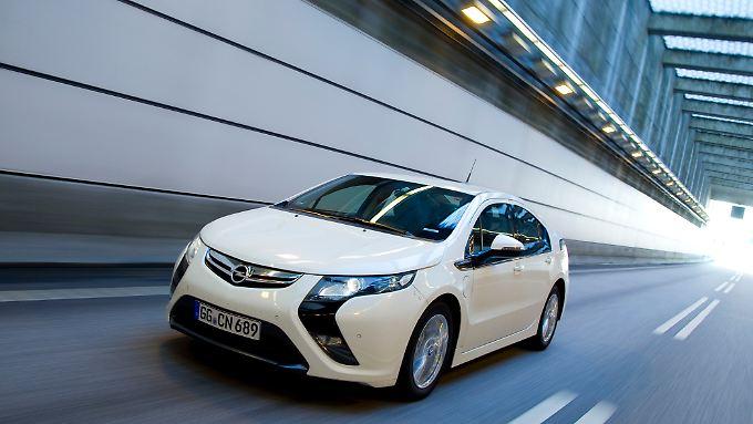 Aufwendige Technik: Opel wird für den Ampera rund 43.000 Euro verlangen. Marktstart ist Ende nächsten Jahres.