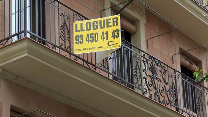 Erschwingliche Mieten sind in Barcelona selten geworden.