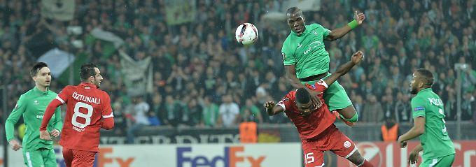 In einem umkämpften Spiel gab es in St. Etienne keinen Sieger - mit dem FSV Mainz aber dennoch einen Verlierer.