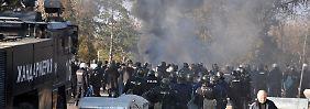 Ausschreitungen in Bulgarien: Polizei nimmt 200 Flüchtlinge fest