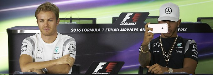 Titel-Showdown in Abu Dhabi: Rosberg & Hamilton spielen kalten F1-Krieg