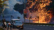 """""""Terror durch Brandstifter"""": Zehntausende fliehen vor Flammenmeer in Israel"""
