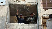 Assad nimmt Nordost-Aleppo ein: Syriens Widerstand gerät ins Wanken