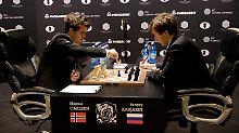 Schnelles Remis ohne Risiko: Schach-WM geht in die Verlängerung