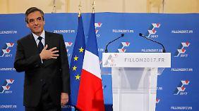 François Fillon setzte sich in den Vorwahlen gegen Nicolas Sarkozy und Alain Juppé durch.