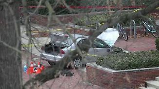 Attentat auf US-Campus: 20-Jähriger rast in Menschengruppe