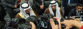 Besonders im Blickfeld: die Vertreter Saudi-Arabiens.