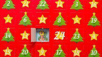 Mehr als zerkleinerte Schokoladentafeln: Ideenreichtum bei Adventskalendern kennt keine Grenzen