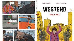 """""""Westend"""" ist im Berlin Story Verlag erschienen, 128 Seiten gebunden, 24,95 Euro."""