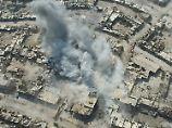 Bei Bombenangriffen Syriens und Russlands auf Teile Aleppos sterben immer wieder Zivilisten, darunter Kinder.