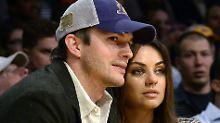 Es ist ein Junge: Kutcher und Kunis wieder Eltern