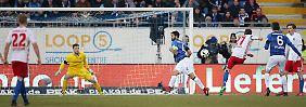 Erlösung in Darmstadt: Der Hamburger SV kann doch gewinnen