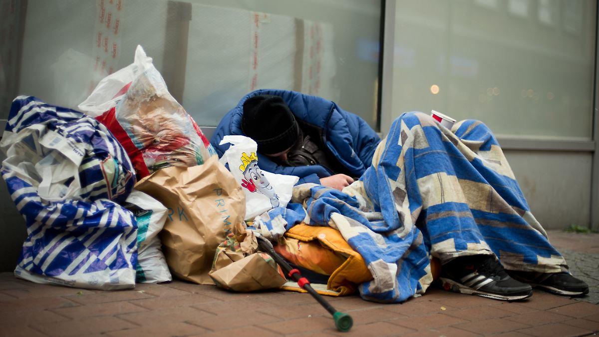 Vatikan öffnet Kirche für Obdachlose