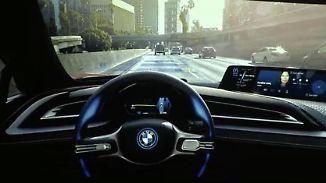 Wer überlässt dem Computer das Steuer?: BMW testet 40 selbstfahrende Autos in München