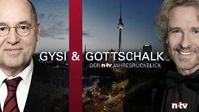 Gysi & Gottschalk: Der n-tv Jahresrückblick