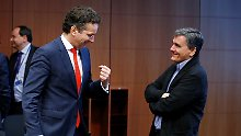 Hilfe bei der Schuldenlast: Euro-Minister kommen Athen entgegen