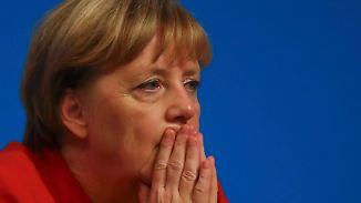 Wiederwahl zur Parteichefin: CDU-Delegierte verpassen Merkel einen Dämpfer