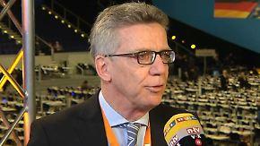 """Thomas de Maizière zum Asylkurs der CDU: """"Keine Verschärfung, sondern eine normale Reaktion"""""""