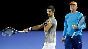 Tennis-Guru offenbar der Grund: Becker und Djokovic gehen getrennte Wege