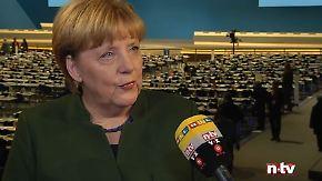 """Kanzlerin Merkel im n-tv Interview: """"Müssen vieles tun, um die Sicherheit zu verbessern"""""""